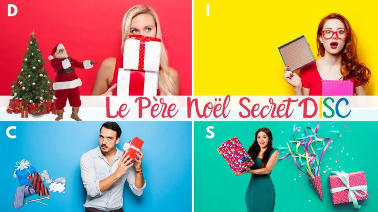 Les cadeaux de dernière minute du Père Noël Secret pour les types de personnalités  DISC